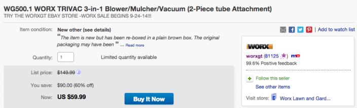 WORX TRIVAC 3-in-1 Blower:Mulcher:Vacuum-WG500-sale-02
