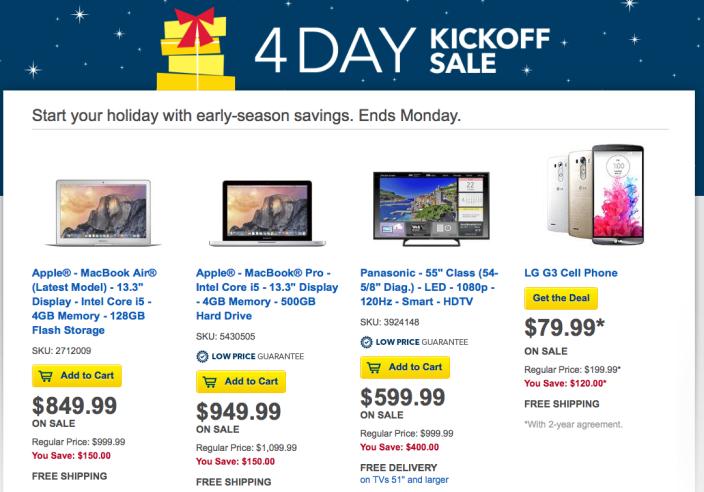 best-buy-4-day-sale