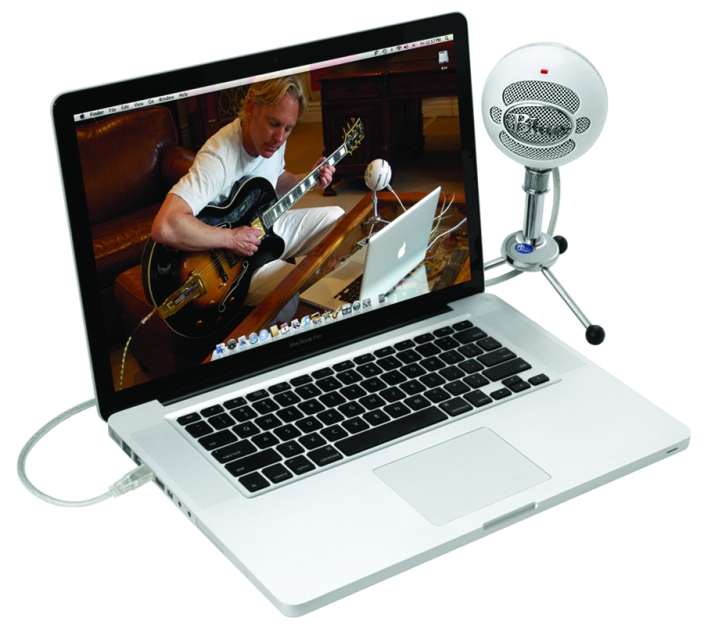 Blue Microphones Snowball USB Microphone in white-SNOWBALL-MA-sale-01