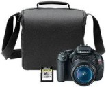 Canon EOS Rebel T3i DSLR Camera with 18-55mm Lens, Free Bag & Free 16GB Memory Card