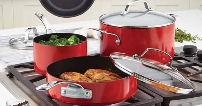 Circulon Genesis 12-Piece Aluminum Non-Stick Cookware Set-sale-01