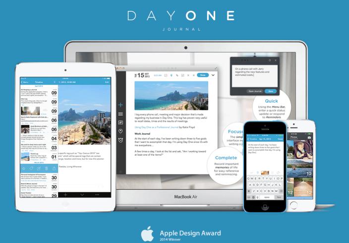 Day One-journal-app-iOS-sale