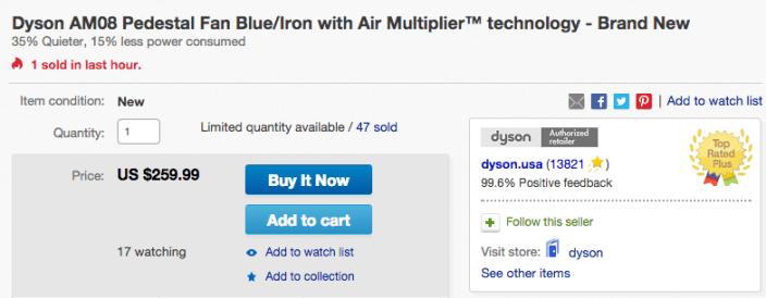 Dyson AM08 Pedestal Fan with Air Multiplier-sale-02