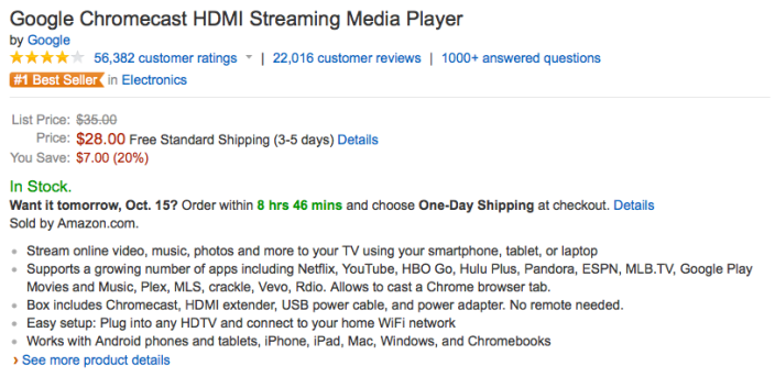 google-chromecast-amazon