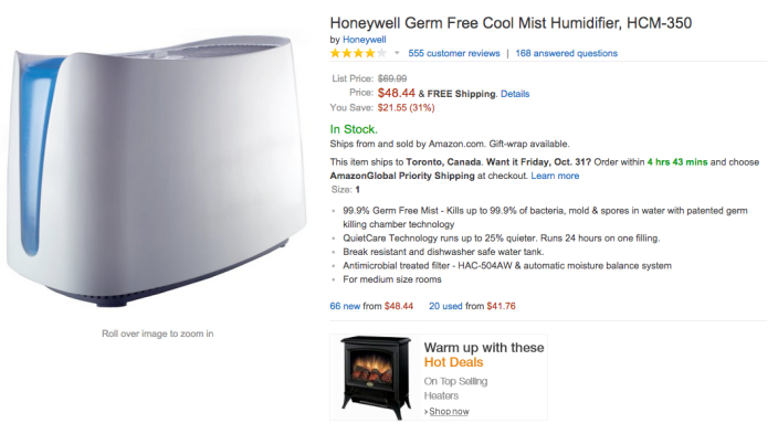 Honeywell Germ Free Cool Mist Humidifier (HCM-350)-sale-02