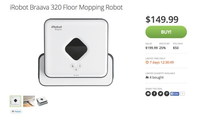 iRobot Braava 320 Floor Mopping Robot-sale-02