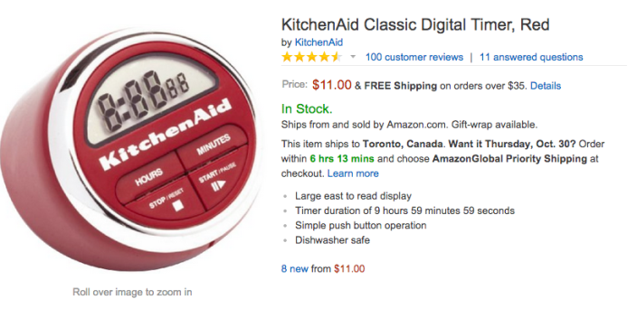 KitchenAid Classic Digital Kitchen Timer-sale-02