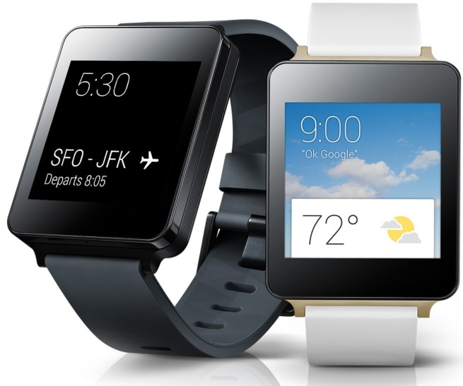 LG – G Watch for Android Devices in Titan Black or White Gold $150 shipped (Reg. $230)