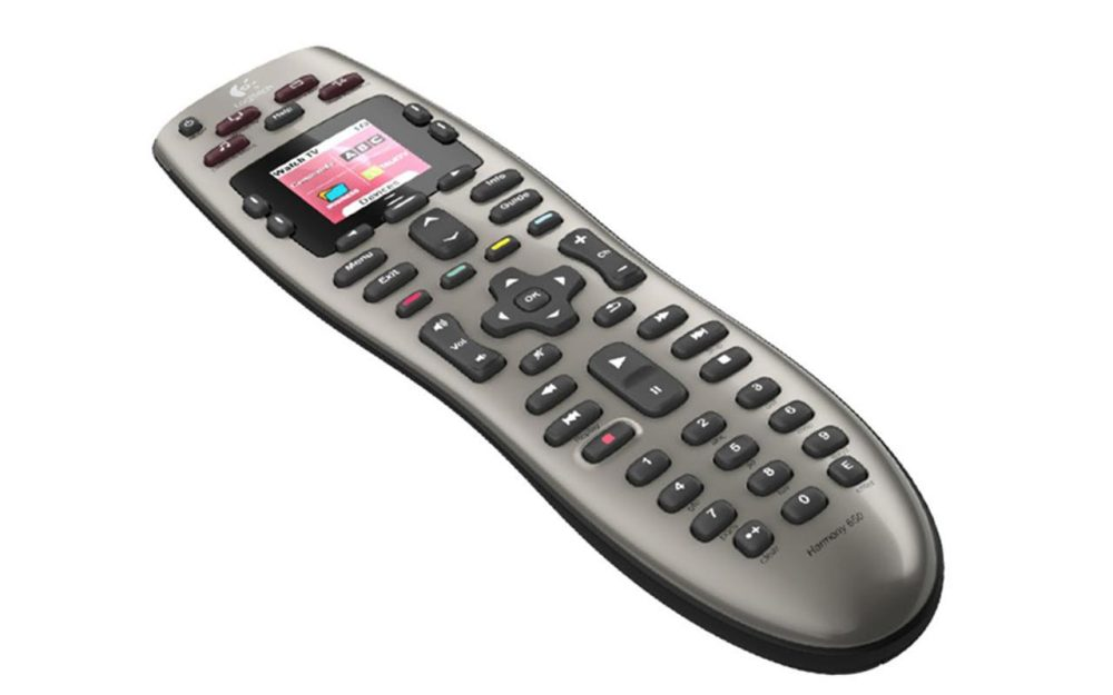 Logitech Harmony 650 Universal Remote with Color Screen - Replace Up To 5 Remotes
