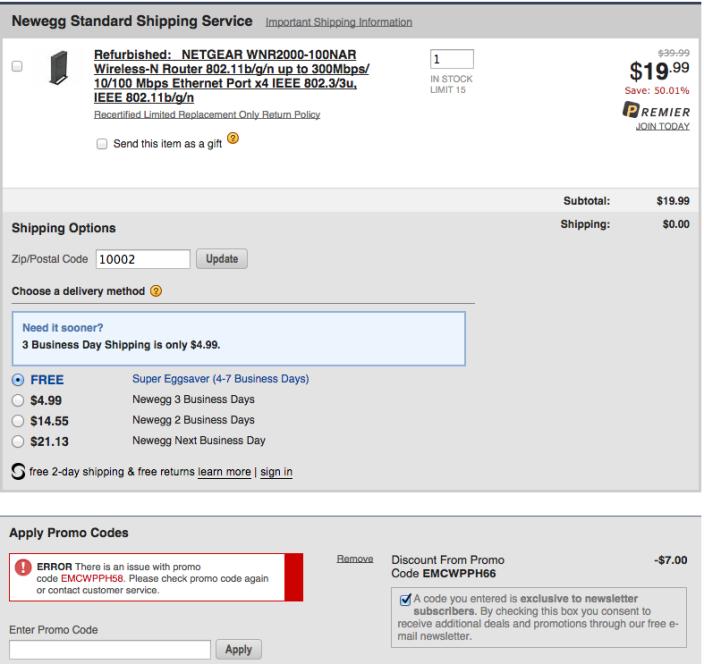 newegg-netgear-router-coupon-refurbished-deal