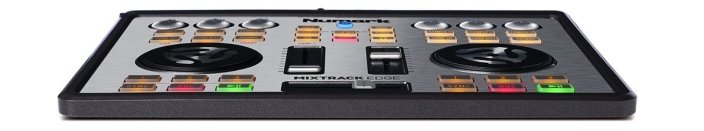 Numark Mixtrack Edge Slimline USB DJ Controller with Integrated Audio Output-sale-02
