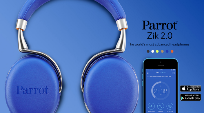 Parrot Zik 2.0-announcement