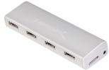 Sabrent Four-Port Aluminum USB 3.0 Hub for Mac or PC