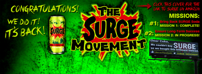 Surge is back-in-stock-Amazon