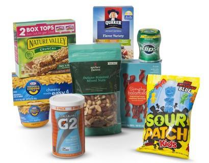Target college food bundle munchies