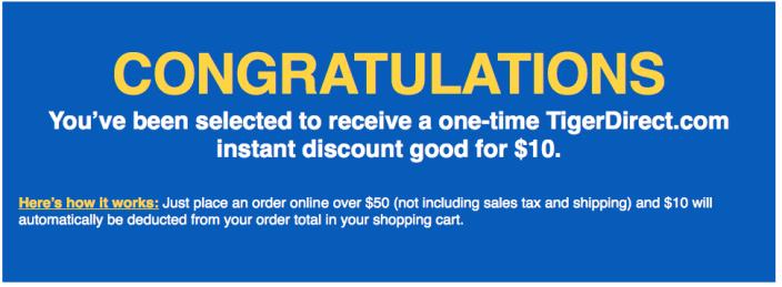 TigerDirect-10-off-coupon