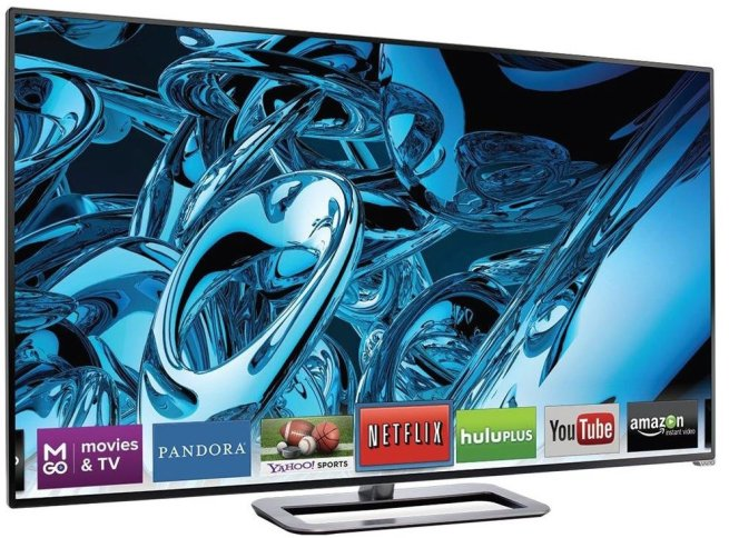 VIZIO M701d-A3R 70%22 1080p 240Hz Razor LED Smart HDTV, Refurbished