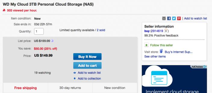 wd-3tb-cloud-storage-ebay-deal