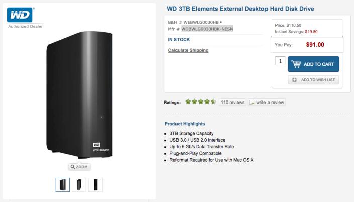 WD 3TB Elements External Desktop Hard Disk Drive-sale-01