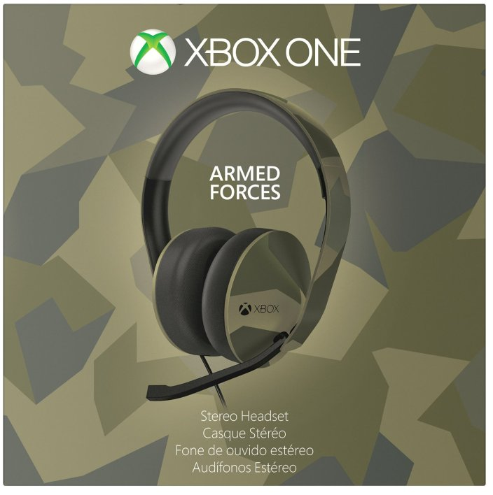 Xbox One Special Edition Armed Forces camo-style Headset -sale-01