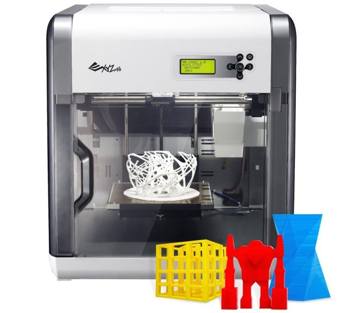 XYZprinting Da Vinci 1.0 3D Printer $399 shipped at Amazon (20% off)
