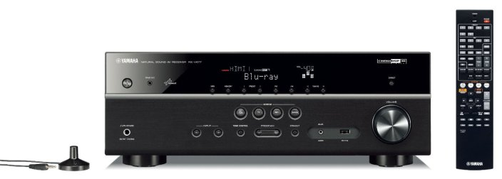 Yamaha 5.1-Channel Network AV Receiver with Airplay-RX-V477-sale-01
