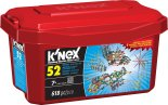 50% on select building toys from K'NEX, including the K'NEX 375 Piece Deluxe Building Set, Lincoln Logs Redwood Junction