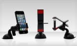 Aduro Grip Clip Universal Car Mount for Smartphones and GPS Devices, 1-or 2-Pack