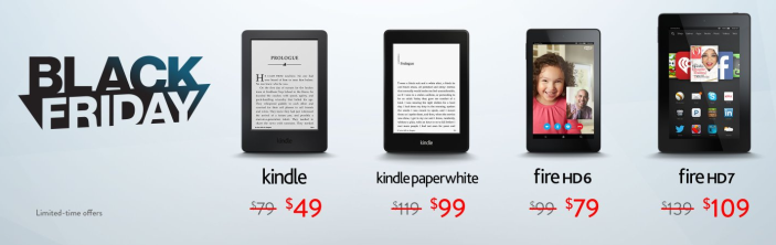 Amaozn Kindle-Black Friday-sale