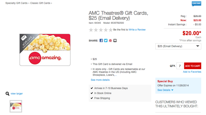 AMC and Regal Entertainment gift cards-01
