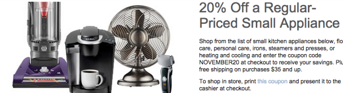 Best Buy-20off-small appliances-more