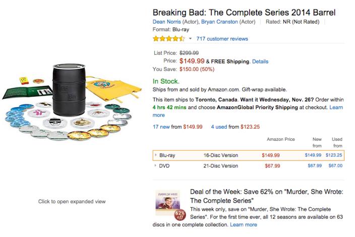 Breaking Bad-sale