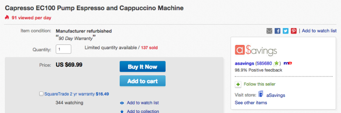 Capresso EC100 Pump Espresso and Cappuccino Machine-sale-02