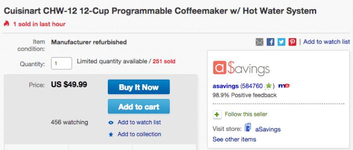 Cuisinart CHW-12 12-Cup Programmable Coffeemaker-sale-02