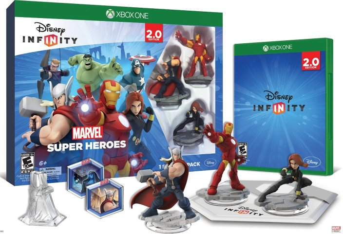 Disney Infinity- Marvel Super Heroes (2.0 Edition) Starter Pack-sale-01