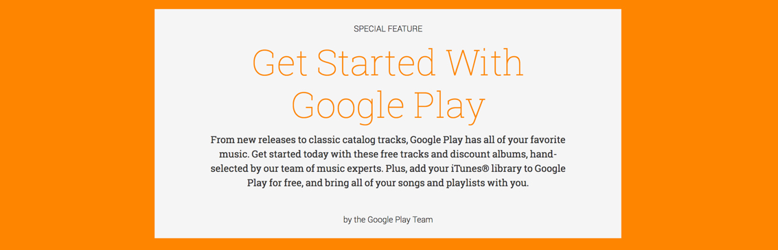 Free music from google play