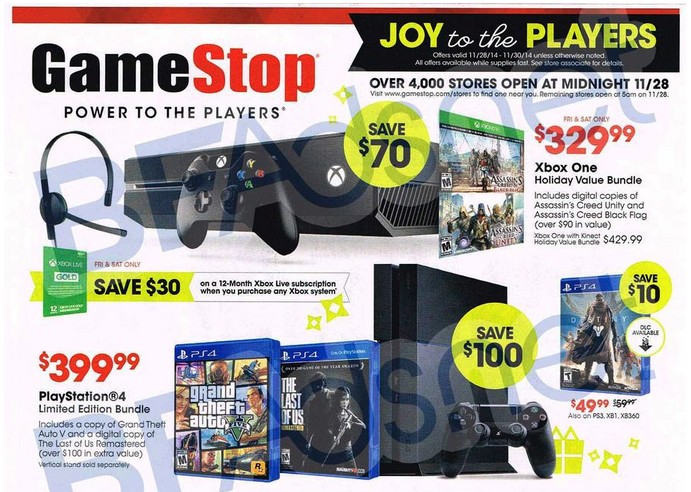 GameStop-Black Friday 2014-01