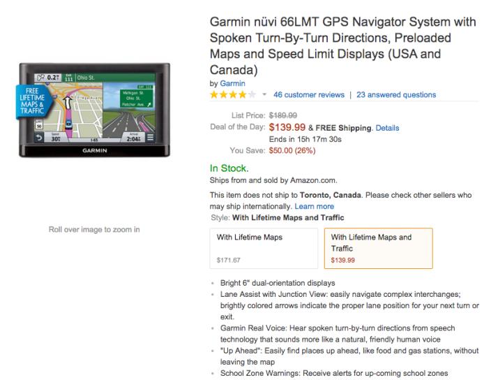 Garmin nüvi 66LMT GPS Navigator System-sale-04