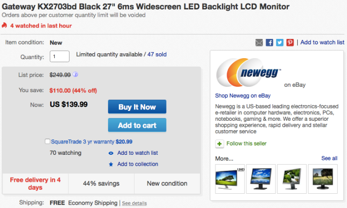 gateway-widescreen-monitor-deal