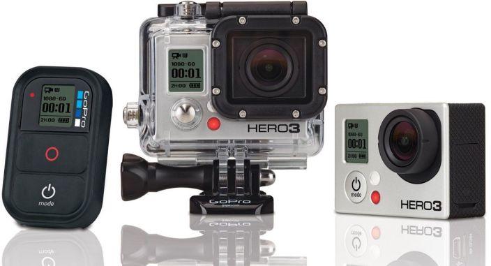 GoPro HERO3 Black Edition Camcorder Manufacturer Refurbished