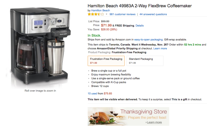 Hamilton Beach 2-Way FlexBrew Coffeemaker (49983A)-sale-02