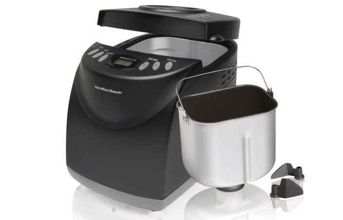 Hamilton Beach Breadmaker in black-sale-01