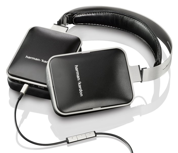 Harman Kardon NC Noise-Cancelling Headphones with Mic in black (HARKARNC-sale-01
