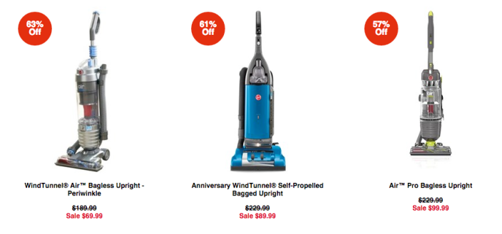 Hoover WindTunnel Air Bagless Upright vacuum (UH70401PC)sale-03