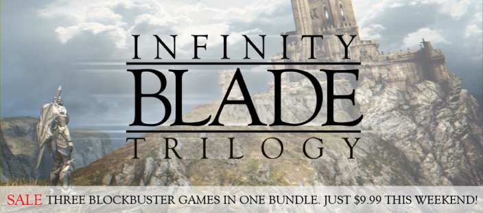Infinity Blade Trilogy-sale-01