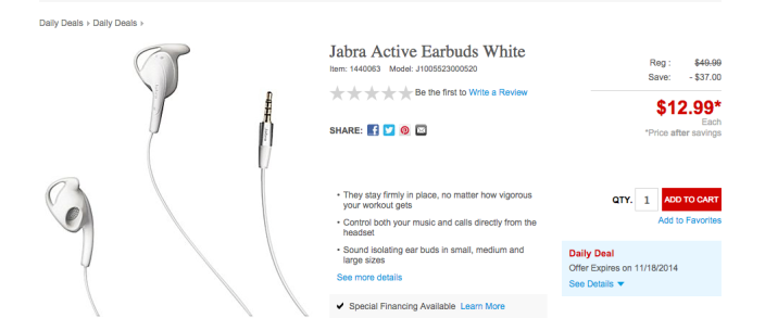Jabra Active Earbuds in white-03