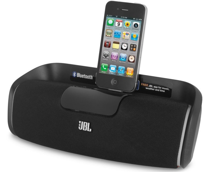 JBL OnBeat aWake Bluetooth Wireless Loudspeaker with 30-pin Dock Connector