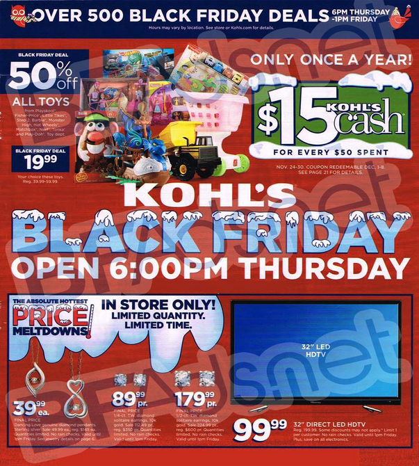 More Black Friday Ad Leaks Jcpenney Kohl S Pier 1 Michaels Walgreens Pep Boys More 9to5toys