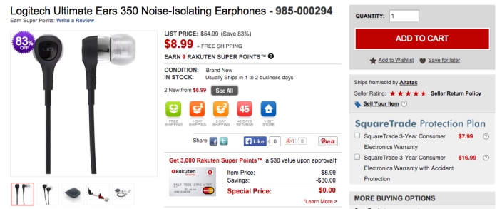 logitech-350-earphones-rakuten-deal