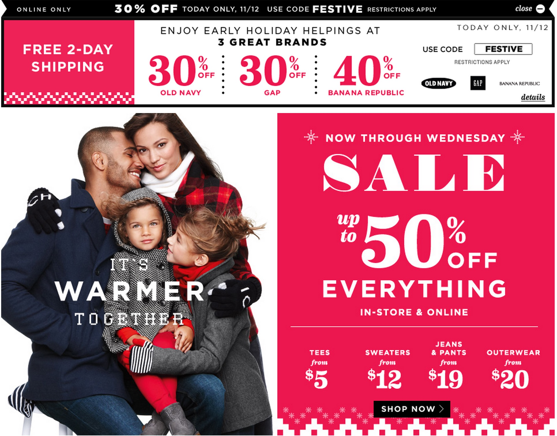 Old-navy-sale-discount | 9to5Toys